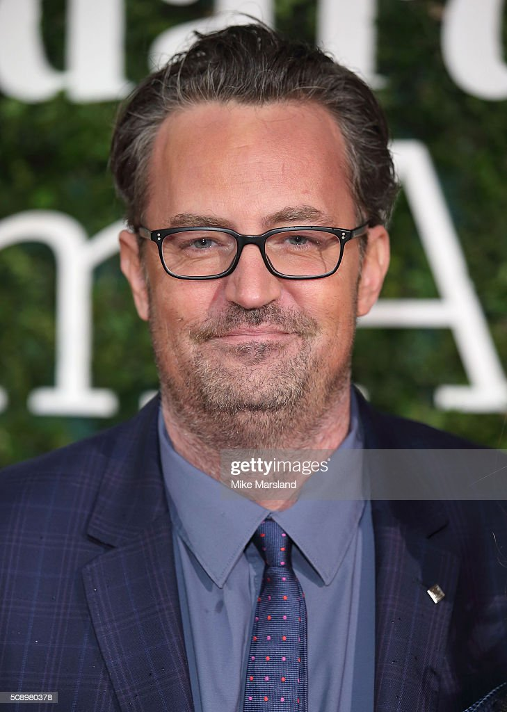 Matthew Perry attends the London Evening Standard British Film Awards at Television Centre on February 7 2016 in London England