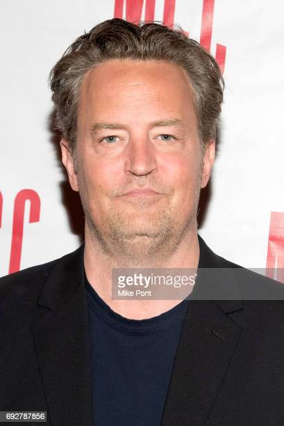 Matthew Perry attends the 'The End Of Longing' opening night after party at SushiSamba 7 on June 5 2017 in New York City