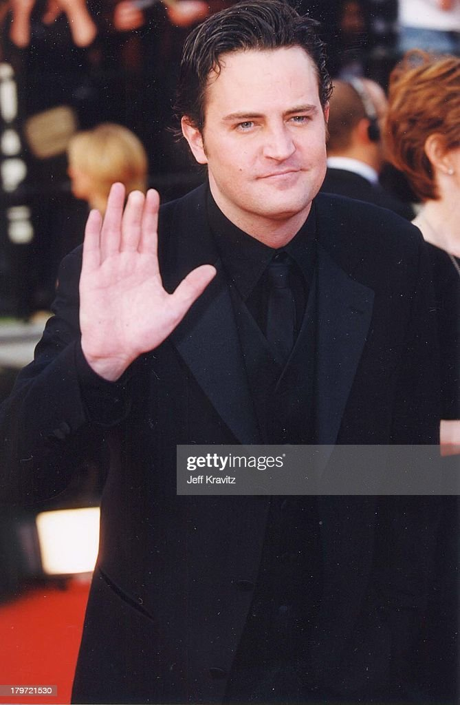 Matthew Perry during 6th Annual Screen Actors Guild Awards at Shrine Auditorium in Los Angeles, California, United States.
