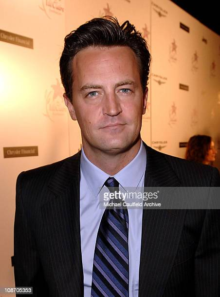Matthew Perry during 8th Annual Lili Claire Foundation Benefit Red Carpet at The Beverly Hilton in Beverly Hills California United States