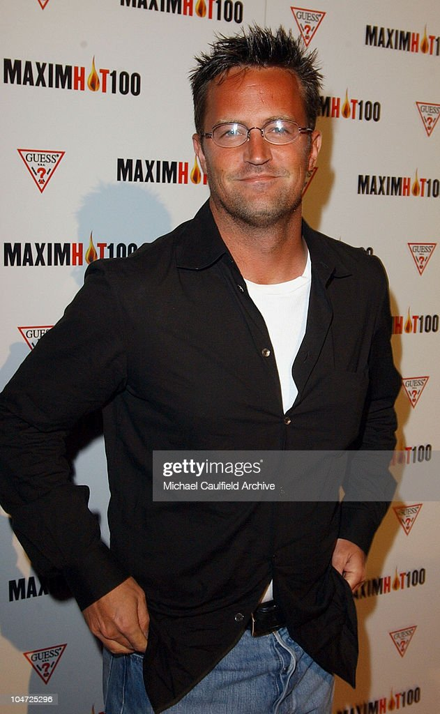 <a gi-track='captionPersonalityLinkClicked' href=/galleries/search?phrase=Matthew+Perry&family=editorial&specificpeople=202851 ng-click='$event.stopPropagation()'>Matthew Perry</a> during Maxim Hot 100 Party - Arrivals at Yamashiro in Hollywood, California, United States.