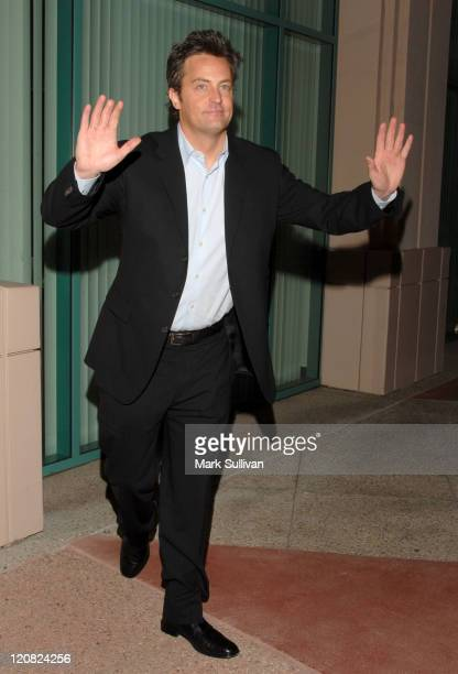Matthew Perry during The Academy of Television Arts Sciences Presents an Evening with 'Studio 60 on the Sunset Strip' in North Hollywood California...
