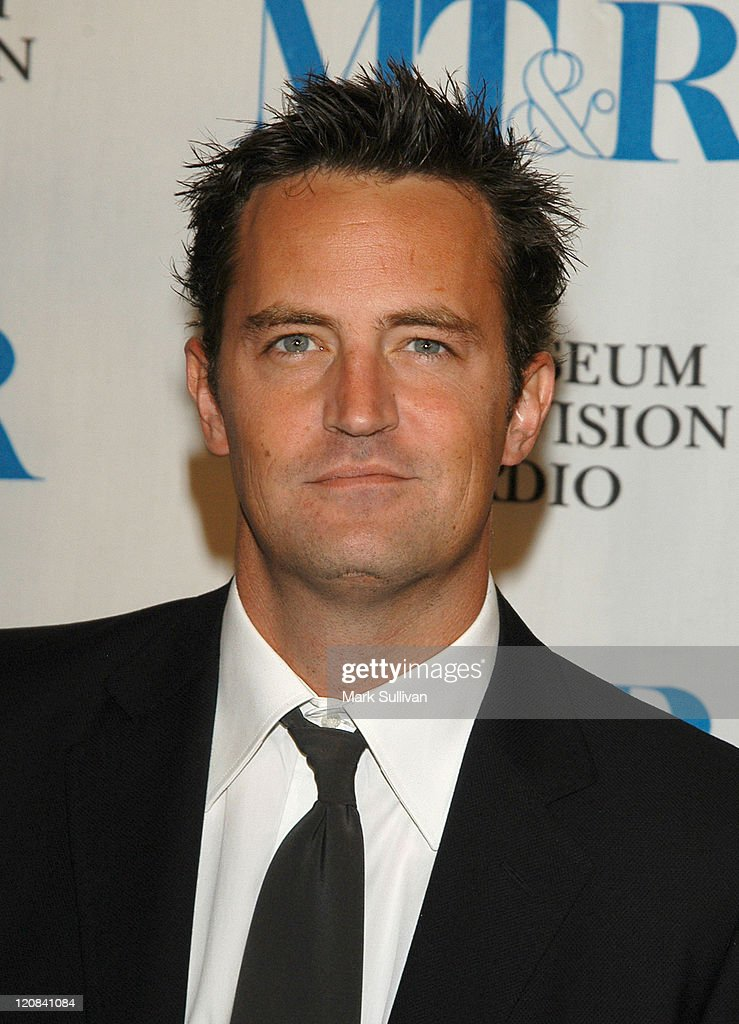 <a gi-track='captionPersonalityLinkClicked' href=/galleries/search?phrase=Matthew+Perry&family=editorial&specificpeople=202851 ng-click='$event.stopPropagation()'>Matthew Perry</a> during The Museum of Television and Radio Annual Los Angeles Gala - Arrivals at The Beverly Hills Hotel in Beverly Hills, California, United States.