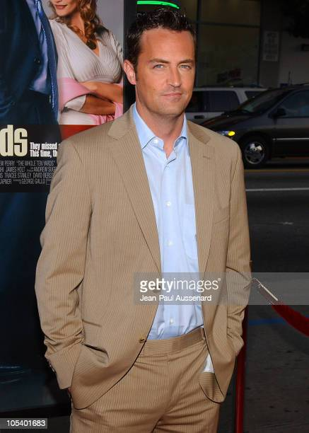 Matthew Perry during 'The Whole Ten Yards' World Premiere Arrivals at Chinese Theatre in Hollywood California United States
