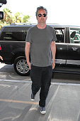 Matthew Perry is seen at LAX on July 26 2016 in Los Angeles California