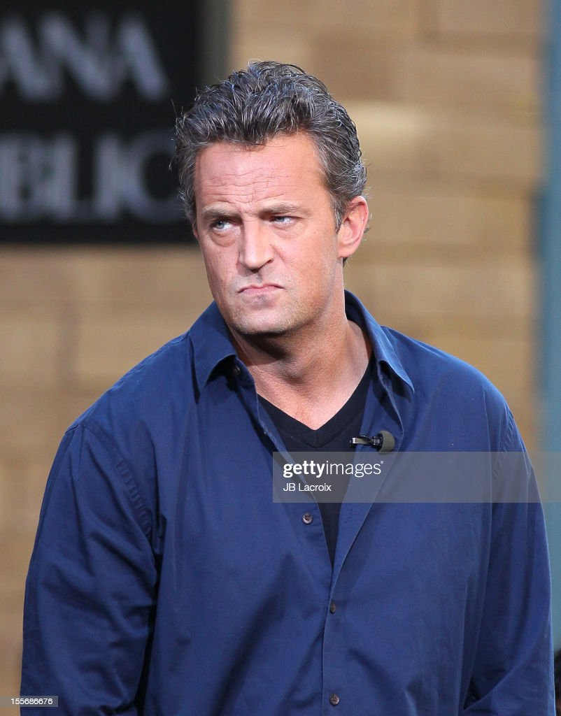 Matthew Perry is seen at The Grove on November 6, 2012 in Los Angeles, California.