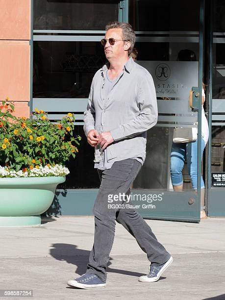 Matthew Perry is seen on September 01 2016 in Los Angeles California