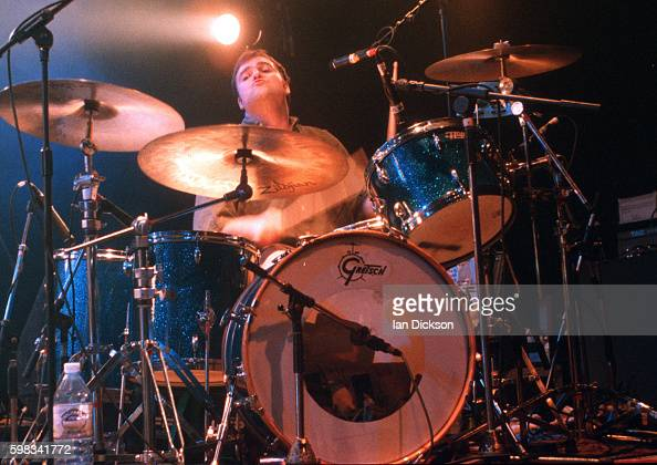Matthew Priest of Dodgy performing on stage at The Forum Kentish Town London 09 June 1995