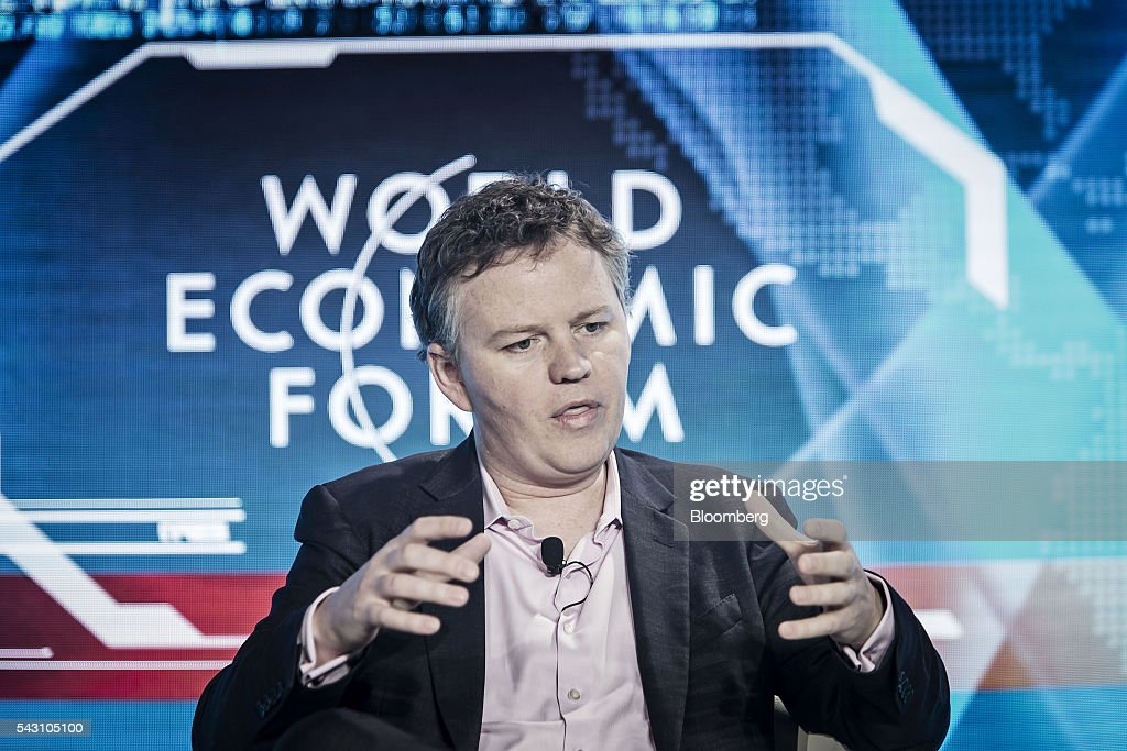 Matthew Prince, chief executive officer of CloudFlare Inc., speaks during a session at the World Economic Forum (WEF) Annual Meeting of the New Champions in Tianjin, China, on Sunday, June 26, 2016. The meeting runs through June 28. Photographer: Qilai Shen/Bloomberg via Getty Images