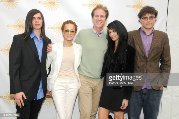 Matthew Pruno Cari Modine Matthew Modine Ruby Modine and Bowman Modine attend SOLAR 1's Revelry By The River Honors MATTHEW MODINE KICK KENNEDY HSBC...