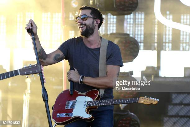 Matthew Ramsey of Old Dominion performs during Watershed 2017 at the Gorge Amphitheatre on July 30 2017 in George Washington