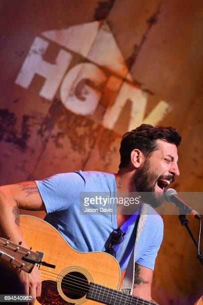 Matthew Ramsey of Old Dominion performs onstage at the HGTV Lodge during CMA Music Fest on June 10 2017 in Nashville Tennessee