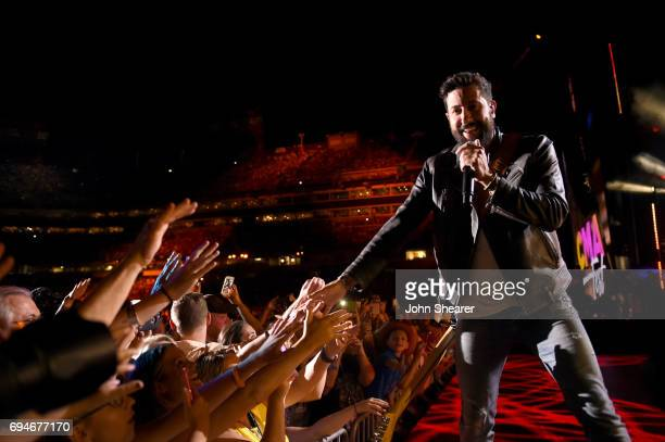 Matthew Ramsey of Old Dominion performs onstage of day 3 at the 2017 CMA Music Festival on June 10 2017 in Nashville Tennessee