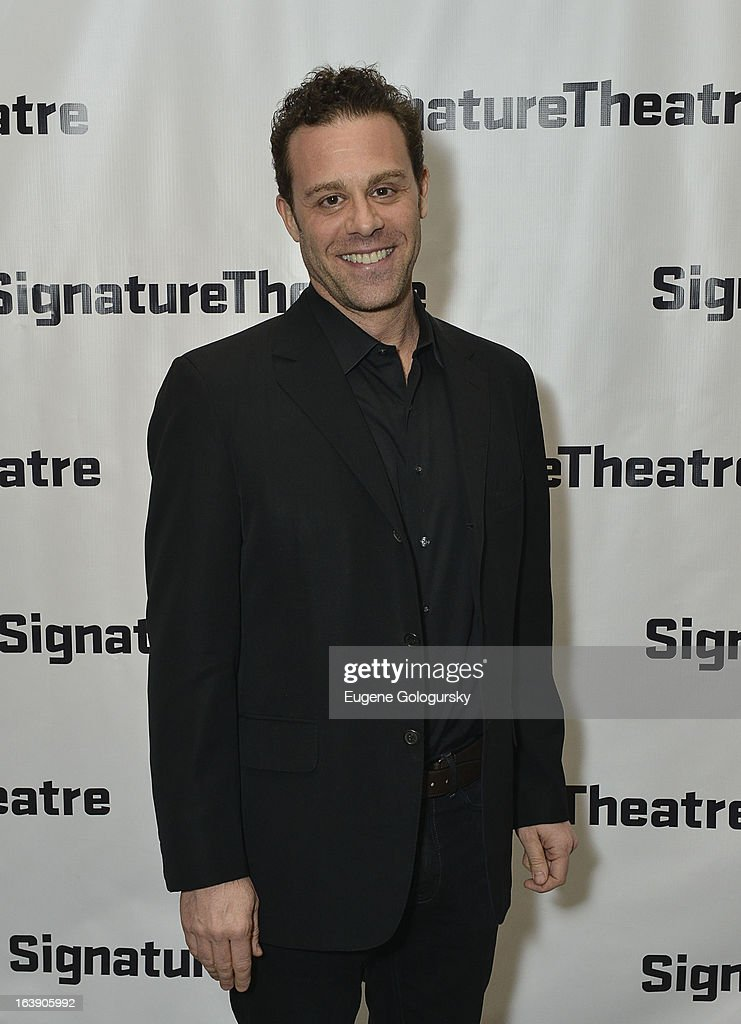 Matthew Rauch attends 'The Mound Builders' Opening Night Party at Signature Theatre Company's The Pershing Square Signature Center on March 17, 2013 in New York City.