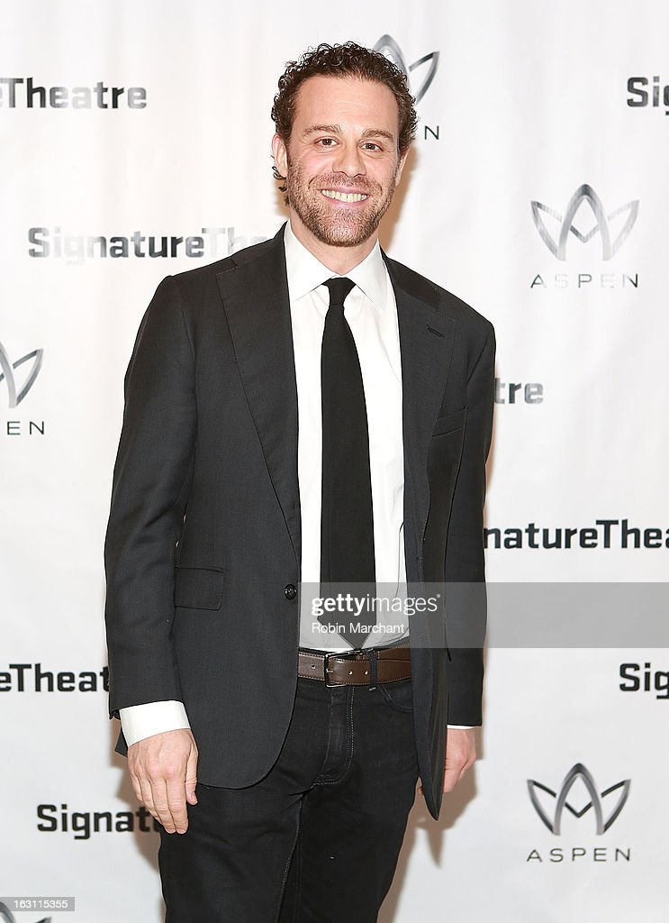 Matthew Rauch attends the 'Old Hats' Opening Night at Signature Theatre Company's The Pershing Square Signature Center on March 4, 2013 in New York City.