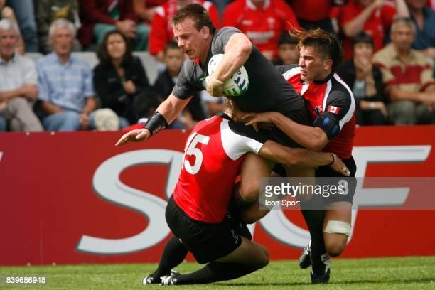 Matthew REES Pays de Galles / Canada Coupe du monde de Rugby 2007 Stade de la Beaujoire de Nantes