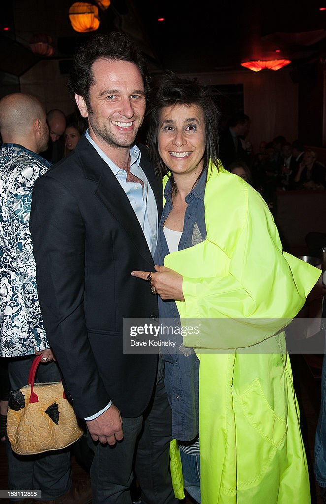 Matthew Reese and Director Sara Sugarman(R) attends the Marvista Entertainment And Lifetime With The Cinema Society Screening Of 'House Of Versace' After Party at B & Co on October 3, 2013 in New York City.