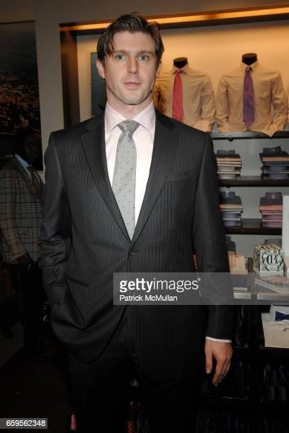 Matthew Reeve attends FACONNABLE VANITY FAIR Shopping Night for the Christopher Reeve Dana Reeve Foundation at Faconnable Store on October 27 2009 in...
