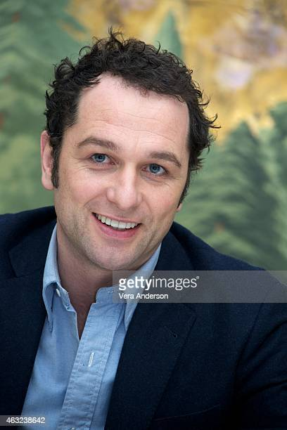 Matthew Rhys at 'The Americans' Press Conference at The London Hotel on February 11 2015 in New York City