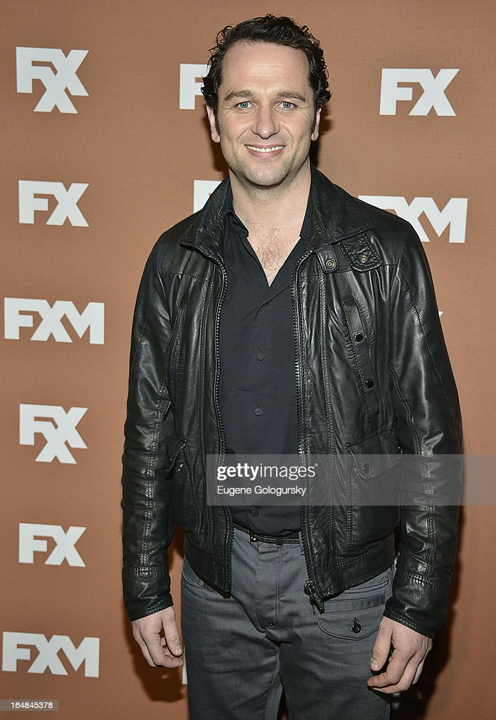 Matthew Rhys attends the 2013 FX Upfront Bowling Event at Luxe at Lucky Strike Lanes on March 28, 2013 in New York City.