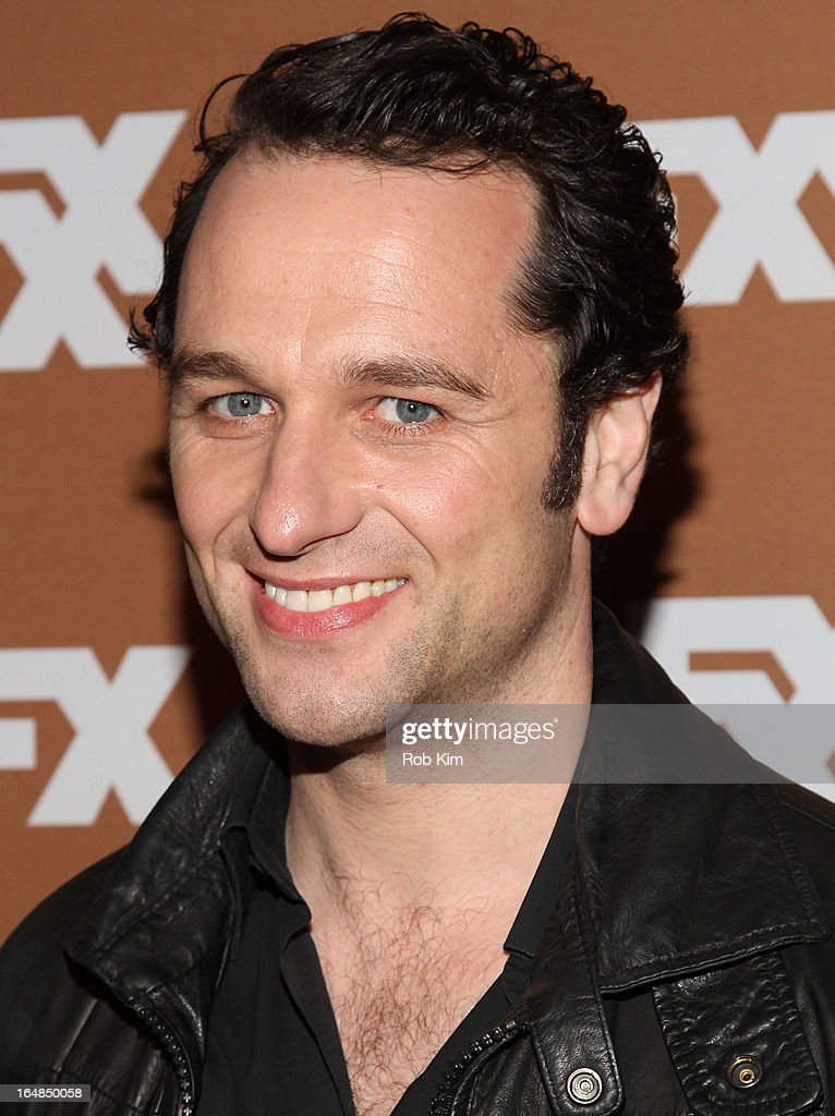 Matthew Rhys attends the 2013 FX Upfront Bowling Event at Luxe at Lucky Strike Lanes on March 28 2013 in New York City