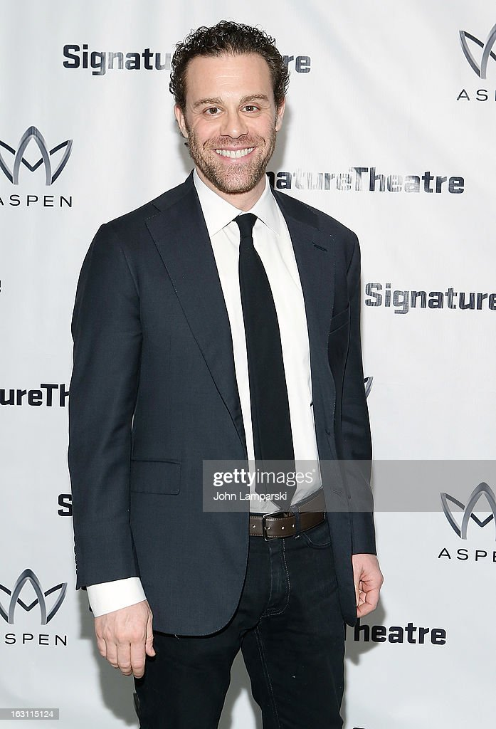 Matthew Roach attends the 'Old Hats' Opening Night at Signature Theatre Company's The Pershing Square Signature Center on March 4, 2013 in New York City.