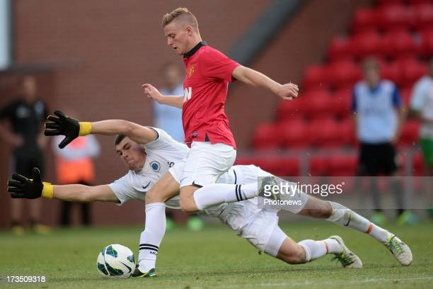 Matthew Ryan of Club Brugge KV in action during the friendly game between Manchester United B and Club Brugge on day 8 of the training camp on July...