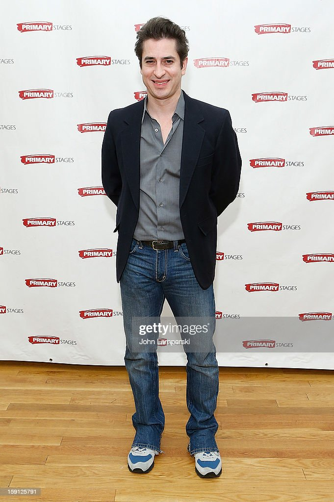 Matthew Saldivar attends the 'All In The Timing' Press Preview at Primary Stages Rehearsal Studio on January 8, 2013 in New York City.