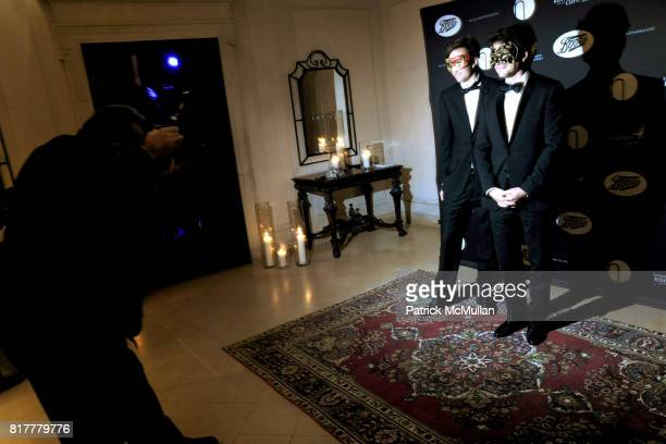 Matthew Settle and Osmund Allenberg attend VIP MASKED BALL for Susan G Komen Headlined by Sir Richard Branson Katie Couric Cornelia Guest HM Queen...