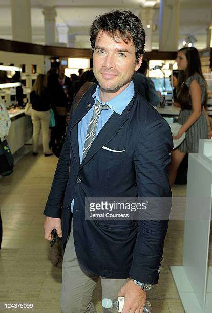 Matthew Settle attends Fashion's Night Out at SAKS Fifth Avenue on September 8 2011 in New York City