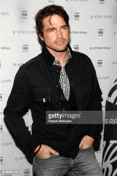 Matthew Settle attends GSTAR RAW Presents NY RAW Fall/Winter 2010 Collection Arrivals at Hammerstein Ballroom on February 16 2010 in New York City