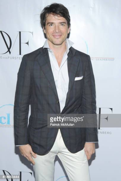 Matthew Settle attends INSTITUTE FOR CIVIC LEADERSHIP 2010 Spring Benefit at DVF Studio on June 15 2010 in New York City