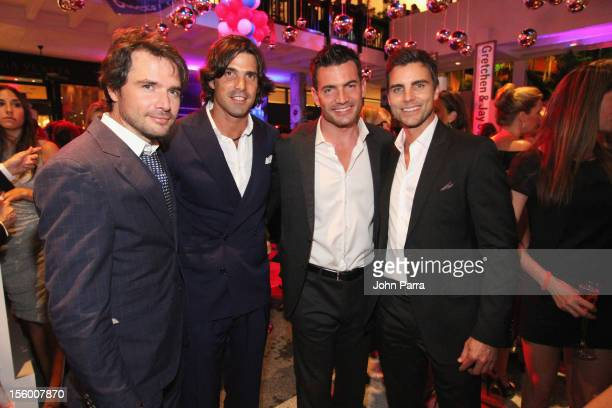 Matthew Settle Nacho Figueras Aiden Turner and Colin Egglesfield attend Destination Fashion 2012 To Benefit The Buoniconti Fund To Cure Paralysis the...