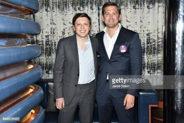 Matthew Spiro and Robert KalsowRamos attend The Junior Board of The TEAK Fellowship Presents A Midsummer Night at PhD Lounge at the Dream Downtown...