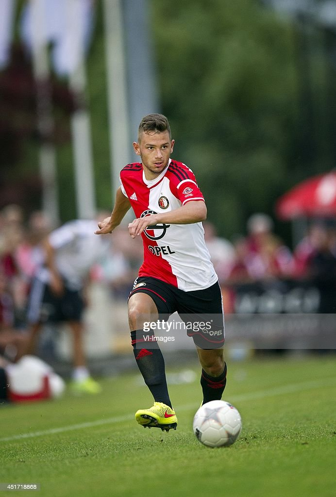 Matthew Steenvoorden during the friendly match between VOC and Feyenoord on July 4, 2014 at Rotterdam, The Netherlands.