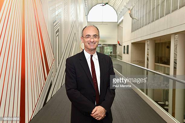 Matthew Teitelbaum named as the Ann and Graham Gund Director of the Museum of Fine Arts Boston poses for a portrait following a Community Breakfast...
