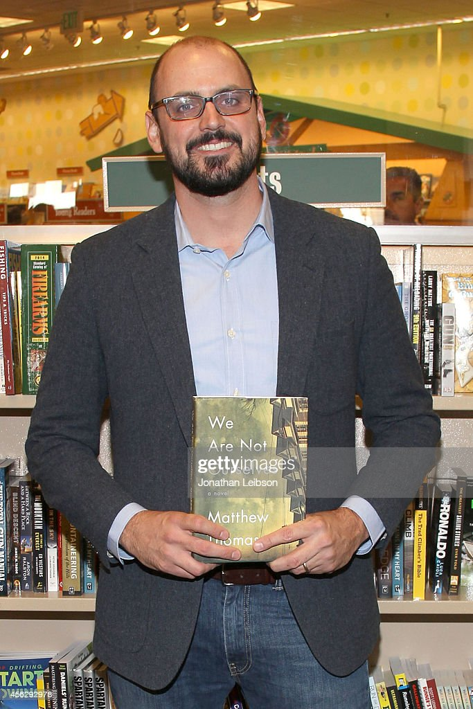Matthew Thomas attends the Matthew Thomas And Misha Collins Sign And Discuss Their New Book 'We Are Not Ourselves' at Barnes & Noble bookstore at The Grove on September 28, 2014 in Los Angeles, California.
