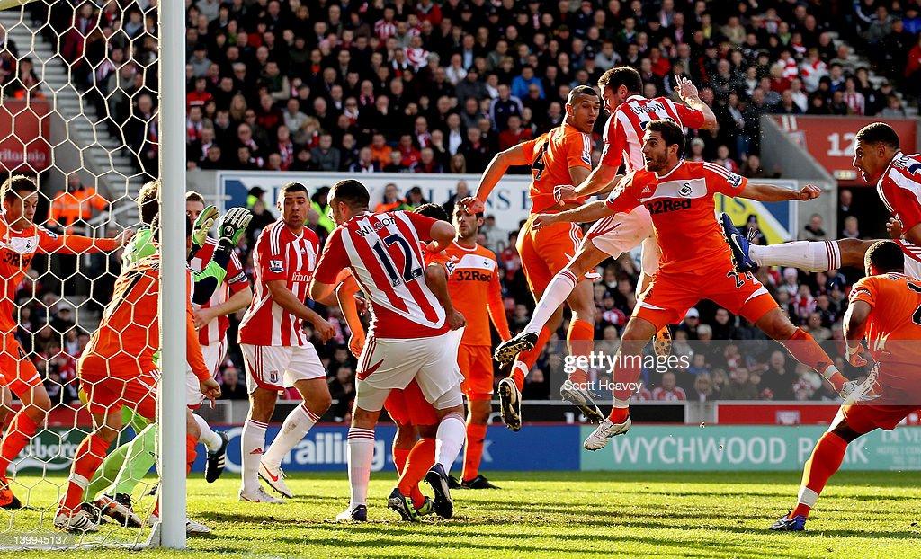 Stoke City v Swansea City - Premier League