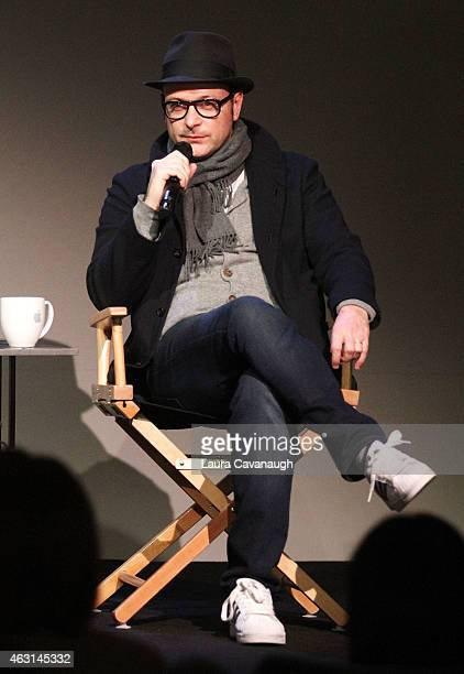 Matthew Vaughn attends Apple Store Soho Presents Meet the Filmmaker Matthew Vaughn 'Kingsman The Secret Service' at Apple Store Soho on February 10...