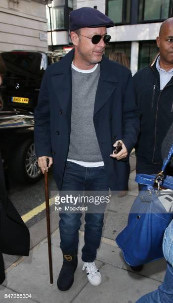 Matthew Vaughn seen at BBC Radio 2 on September 15 2017 in London England