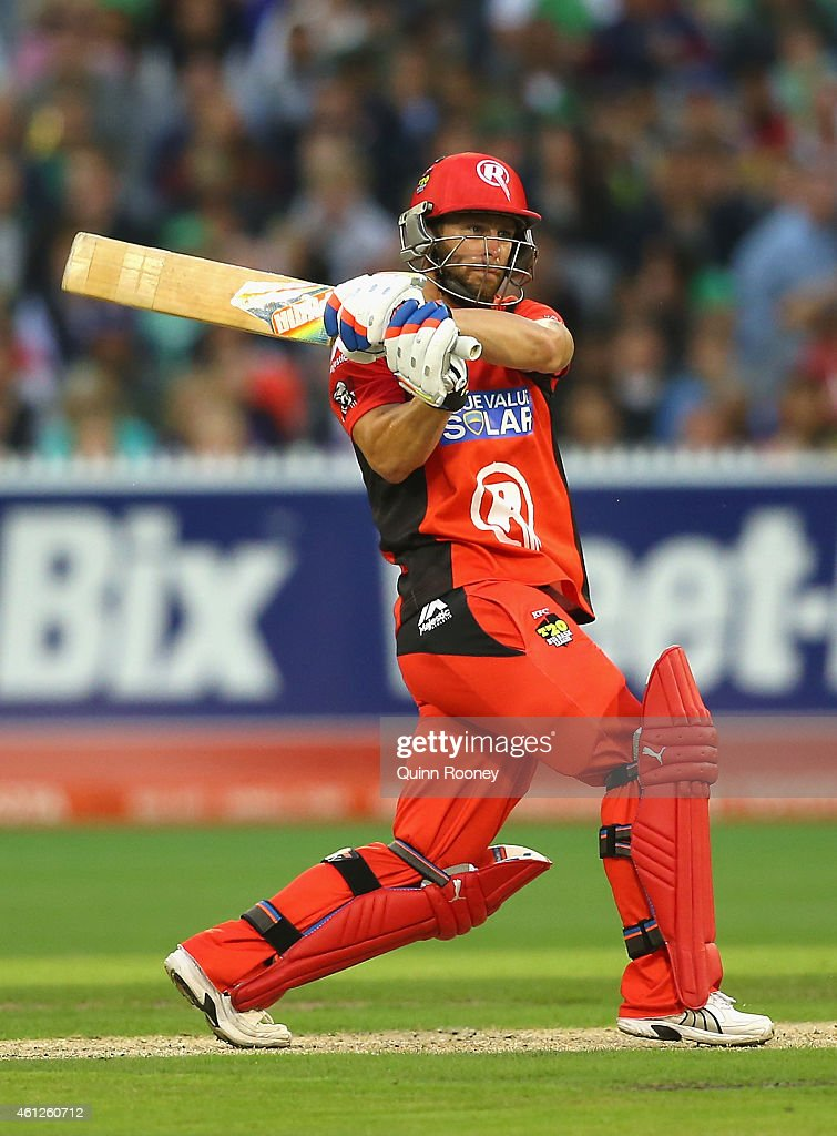 <a gi-track='captionPersonalityLinkClicked' href=/galleries/search?phrase=Matthew+Wade&family=editorial&specificpeople=724041 ng-click='$event.stopPropagation()'>Matthew Wade</a> of the Renegades bats during the Big Bash League match between the Melbourne Stars and the Melbourne Renegades at Melbourne Cricket Ground on January 10, 2015 in Melbourne, Australia.