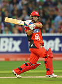 Matthew Wade of the Renegades bats during the Big Bash League match between the Melbourne Stars and the Melbourne Renegades at Melbourne Cricket...