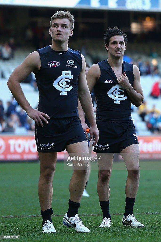 AFL Rd 23 - Carlton v Essendon