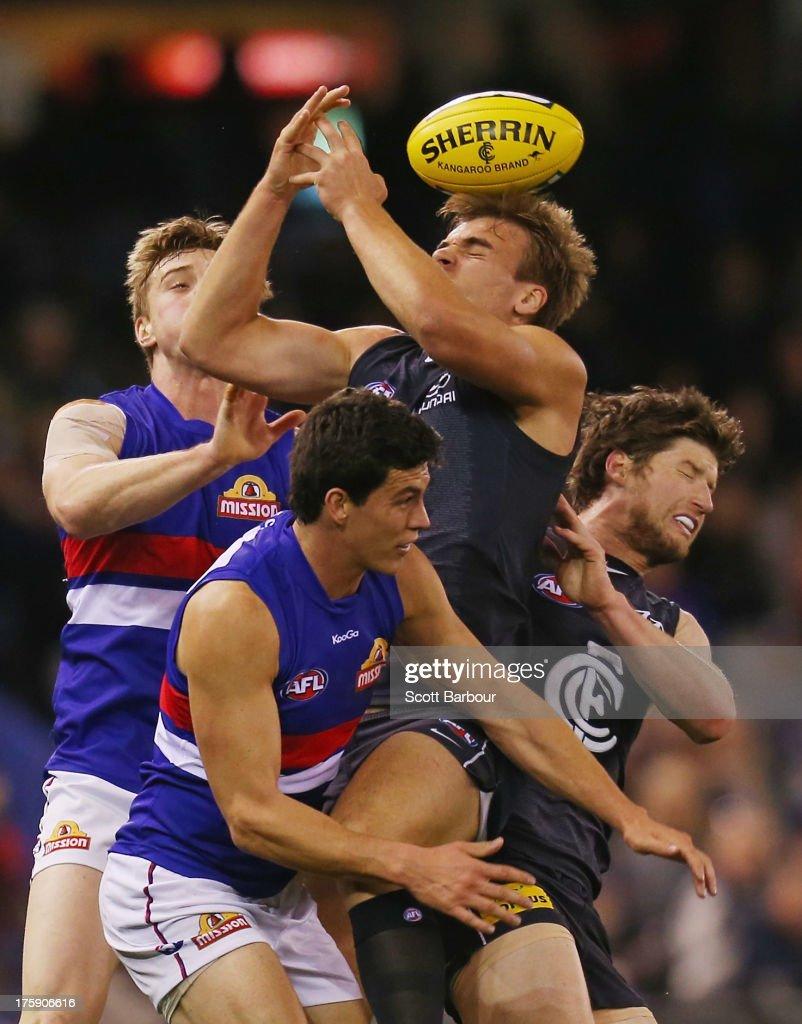 AFL Rd 20 - Carlton v Western Bulldogs