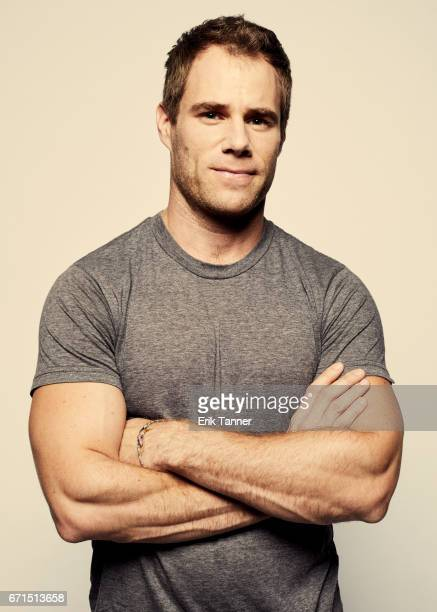 Matthew Wilkas from 'New York Is Dead' poses at the 2017 Tribeca Film Festival portrait studio on April 21 2017 in New York City