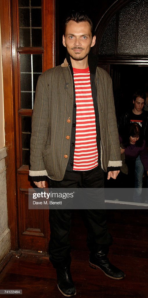 Matthew Williamson arrives at a private gig to be performed by Prince at KOKO Club on May 10 2007 in London England