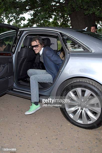 Matthew Williamson arrives at The Raisa Gorbachev Foundation Party at Hampton Court Palace on June 7 2008 in RichmonduponThames England