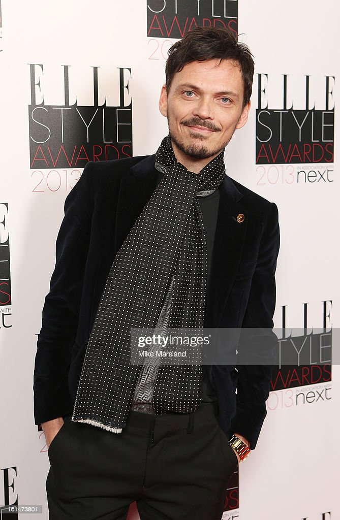 Matthew Williamson attends the Elle Style Awards 2013 at The Savoy Hotel on February 11, 2013 in London, England.