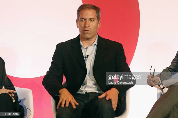Matthew Witt speaks onstage at the What's Hot in 2017 – Leveraging Changing Habits to Drive Engagement panel at BB King during 2016 Advertising Week...