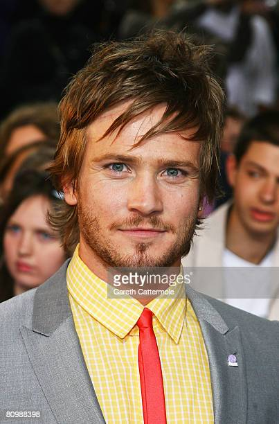 Matthew Wolfenden arrives for the British Soap Awards 2008 at BBC Television Centre on May 3 2008 in London England